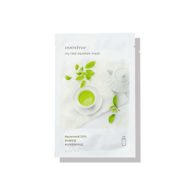 My Real Squeeze Mask EX - Green Tea