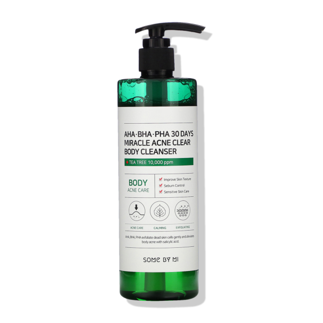 AHA, BHA, PHA 30 Days Miracle Clear Body Cleanser
