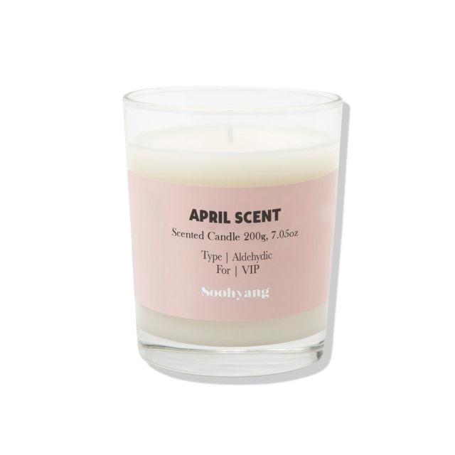 April Scent Candle